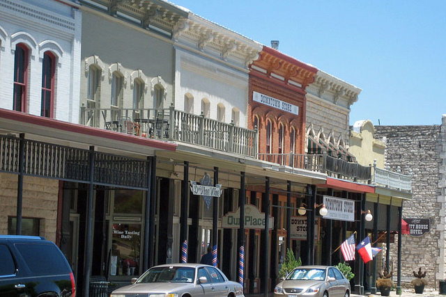 Historic Granbury Texas Dvine Wine Granbury