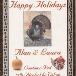 Custom Holiday Label