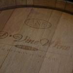 D'Vine Wine custom wine barrel.