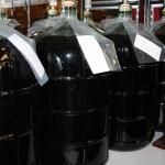 The 6-8 week fermentation process.